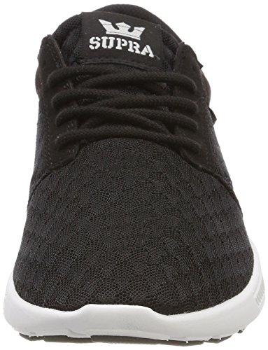Basses Supra Noir Grey Homme Run 3M Black Sneakers Hammer Black white Lt xqqtgwpS