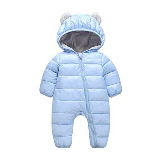 950c13fbb11b FEITONG Baby Boys Girls Kid Rompers Children Winter Thick Winter Warm  Jumpsuit Outerwear(0-