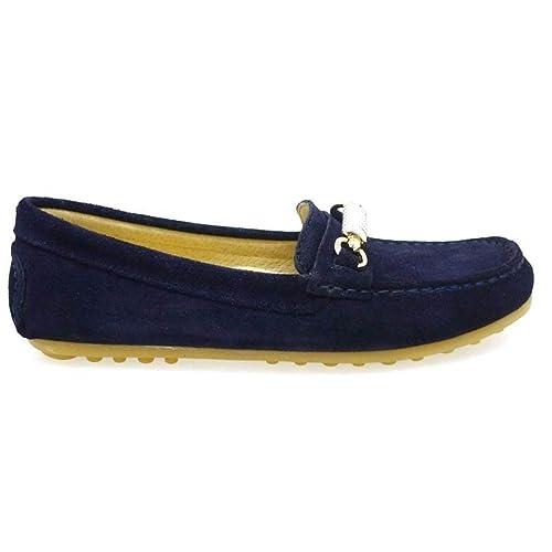 CLARYS Mocasines de Niño N20155 Azul Marino: Amazon.es: Zapatos y complementos