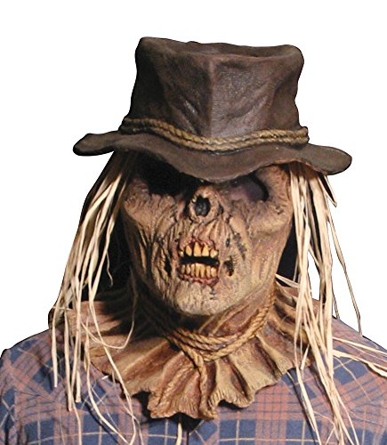 Zombie Scarecrow Mask (Scary-Masks Zombie Scarecrow Mask Halloween Costume - Most Adults)