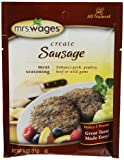 Mrs. Wages Sausage Seasoning Mix, 2-Ounce Pouches (Pack of 12)