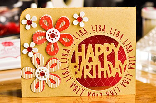 UpperScript2Stamp Alphabet Letter Clear Stamps for Scrapbooking and Card-Making by The Stamps of Life