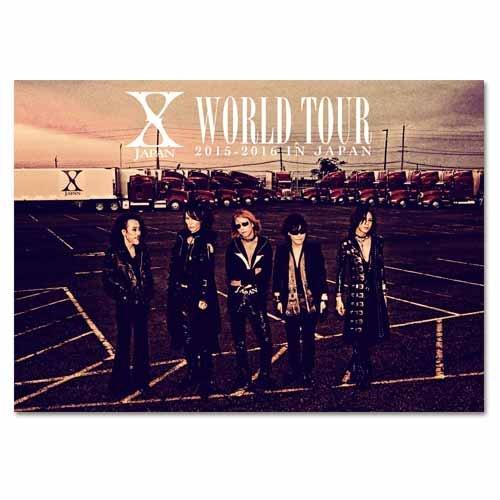B2ポスター PP加工/WORLD TOUR 2015-2016/X JAPAN/yoshiki/we are x/toshi/pata/heath/sugizo/x-japan/xjapan   B07QPK8FK2