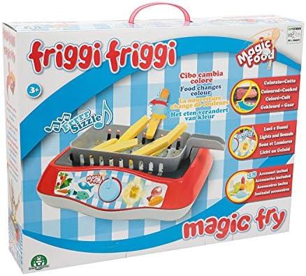 Friggi Friggi- Rapunzel Friggi Freidora mágica Luces y Sonido, 46 x 36 x 12 cm (Giochi Preziosi MA000001): Amazon.es: Juguetes y juegos