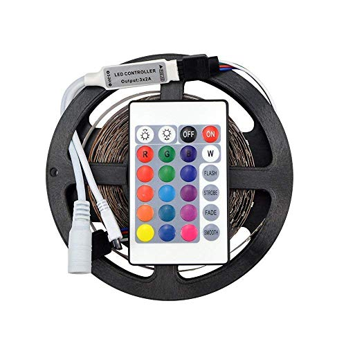 Starvin Super LED Strip RGB Multicolored with Remote and Adapter for House Party and Decorations Diwali Light Special 5…