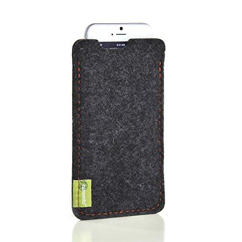 ALMWILD® Hülle Tasche für Apple iPhone 7 6s 6 MIT Apple Leder Case / Silikon Case. Modell