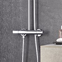 Grohe Euphoria 180 - Sistema de ducha con termostato, alcachofa de ...