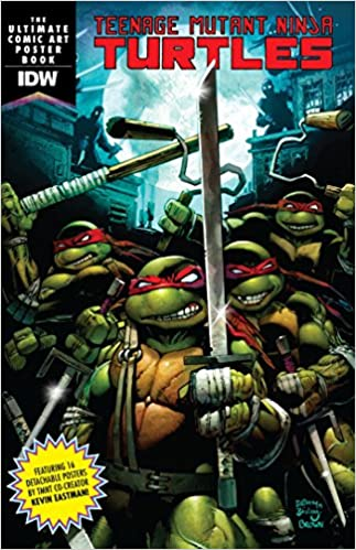 Amazon.com: Teenage Mutant Ninja Turtles Comic Art Poster ...