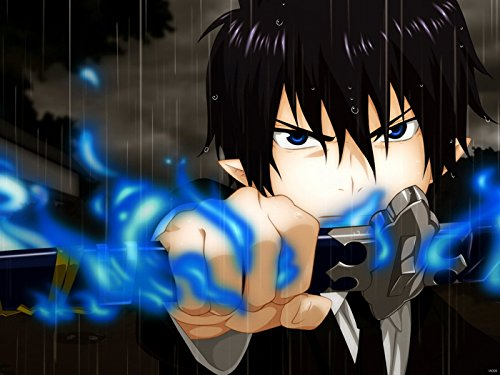 Blue Exorcist Rin Okumura Ao no Exorcist Awesome Anime Manga Art Print Poster