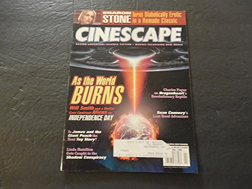 Cinescape Apr 1996 Independence Day; Sharon Stone; Giant Peach ()