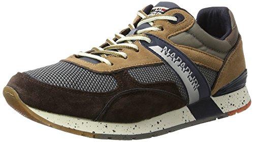 Baskets Grey Multicolore Napapijri Marron Rabari Brown Homme N807 6RRxFO
