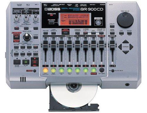 (Boss BR-900CD Digital Recording Studio)