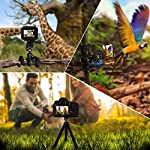 NOYMI Mobile Stands for Video Recording & Camera,360°Rotation Object Tracking,Desktop Gimbal Smartphone Selfile Stick Stand for Phone Mobile Tiktok YouTube Video Shooting(Black) 8