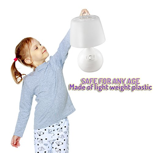 Cordless Operated Night - Motion Sensor Powered Lamp Desk, Bathroom Portable Home Indoor and Use