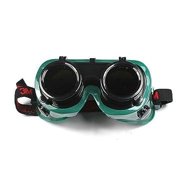 ZHIFENGLIU Gafas de protección Industrial Seguro de Seguridad Soldadura láser Soldadura de Cobre y estaño Soldadura Arco Gafas: Amazon.es: Deportes y aire ...
