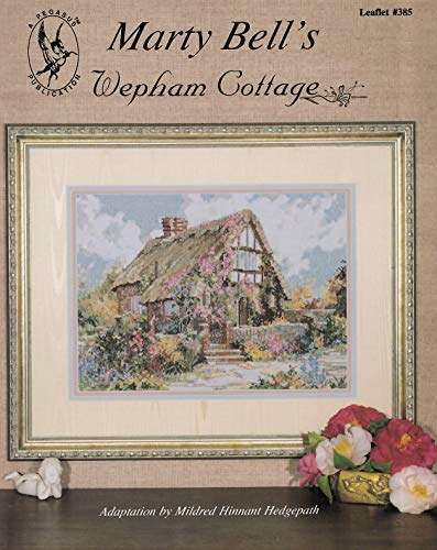 Pegasus Originals Wepham Cottage Counted Cross Stitch Leaflet by Marty Bell