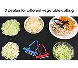 Smiley Homey Magic Trio Peeler 2018 New for Vegetable Fruit - 3PACK