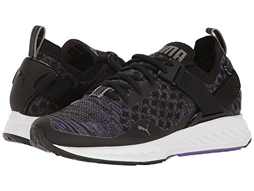 PUMA Women's Ignite Evoknit Lo WN's Cross-Trainer Shoe, Black-Electric Purple-Quiet Shade, 10.5 M US Review