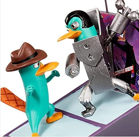Disney Phineas and Ferb Across the Second Dimension Agent P /& Plataborg Ornament