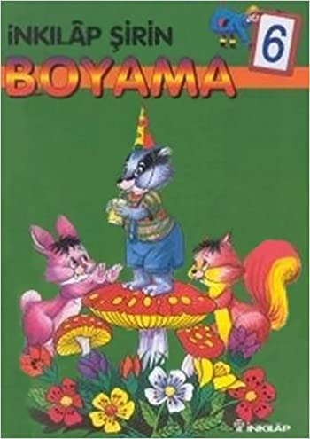 Inkilap Sirin Boyama 6 9789751048905 Amazoncom Books