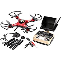 Tinfancy JJRC H8D 5.8G 4CH 6-Axis Drone Real-time Video FPV Headless Mode One Key Return RC Quadcopter With 2.0MP HD Camera