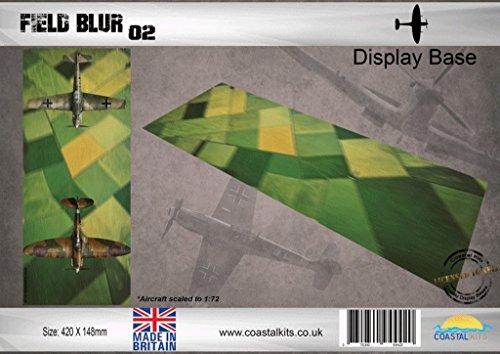 Coastal Kits 1:72 Field Blur 02 420x148mm Display Diorama Base #CKS1004B ()