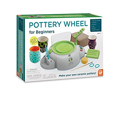 Tabletop Left-Handed Mini Pottery Wheel for Beginners or Children by US Art Supply detail review