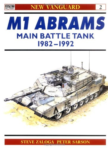 Abrams Main Battle 1982 92 Vanguard