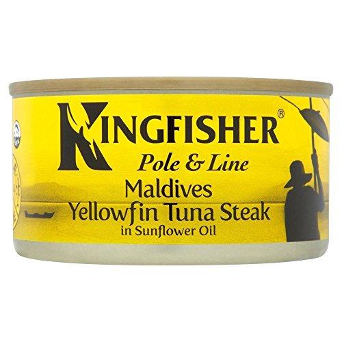 kingfisher-pole-line-yellowfin-tuna-steak-in-sunflower-oil-198g