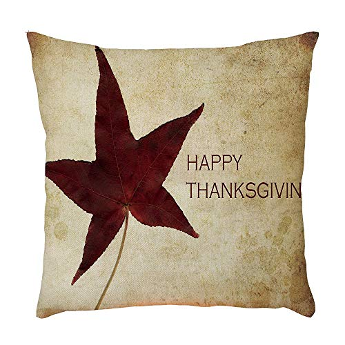 Price comparison product image Hongxin Home Decor Pillow Case, 1PC Simple Style Home Bed Sofa Car Decorative Letter Pillow Case Cushion Cover (D,  45cm×45cm)