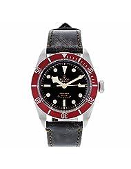 Tudor Heritage Black Bay Black Leather Mens Watch 79220R-BKLS