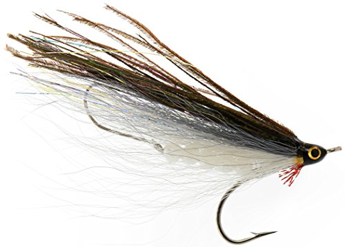Freshwater Clouser Deep Olive//Yellow size  #6