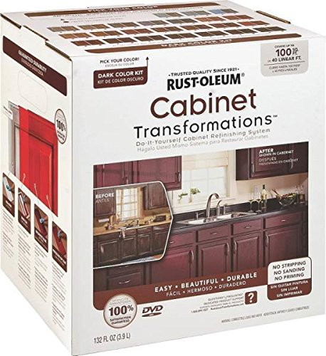 New Rustoleum 258240 Transformations Dark Tint Cabinet Refinishing Kit 3322484 by Rust-Oleum