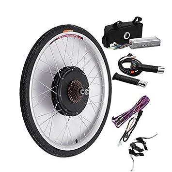 Kit de conversión de motor eléctrico de rueda trasera para bicicleta (48 V y 1000