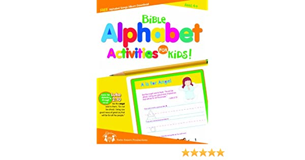 Bible Alphabet Activities for Kids: Twin Sisters Productions ...