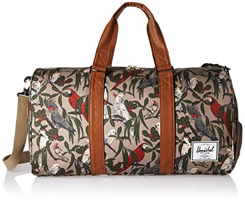 Parlour PU One 41 Liters Synthetic Grey size Tan Sport Tan Supply Leather Company Brindle Duffel Novel Herschel qRH1OR