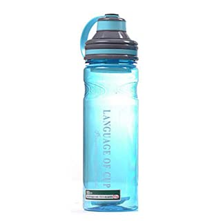 GULKITTS Tazza d'acqua Large Capacity Plastic Sports Cups with Filter Outdoor Travel Water Bottle Container Supplies