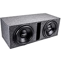 Skar Audio Dual 12 1600 Watt Subwoofer Package - Includes 12-Inch VD Series Dual 4 Ohm Subwoofers in Ported Box