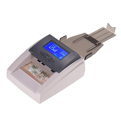 aibecy Portable Desktop Multi currency zählbarer automática Dinero Detector de dinero Banco Ordenador falsos con pantalla