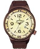 Kienzle Herren-Armbanduhr POSEIDON XL Analog  Quarz Silikon K2031069293-00392
