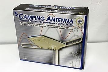 Edc - Antena tv externa camping . caravana . nautica . para ...
