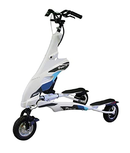 Amazon.com: Trikke White Pon-e 48v 2WD Rechargeable Foldable ...