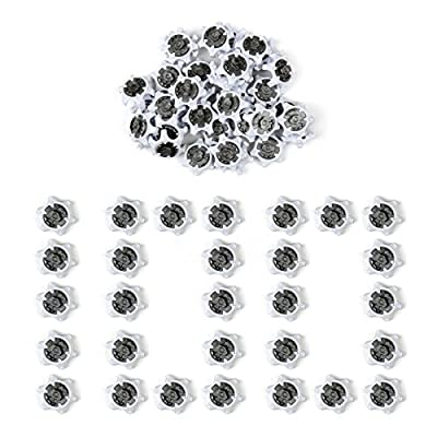 Areyourshop 100 PCS THiNTech Spikes/Cleats PINS Golf Shoes For FootJoy Stuburt Callaway WHI