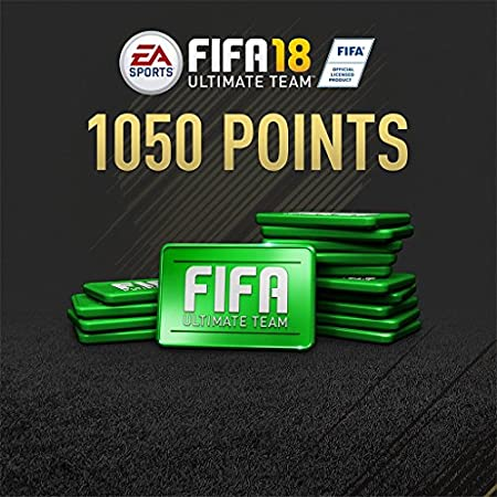 FIFA 18 - 1050 FIFA POINTS - PS4 [Digital Code]