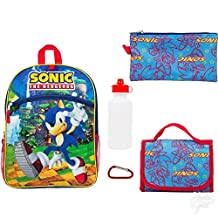 Sonic the Hedgehog 5-pc. Backpack & Lunch Box Set- Includes