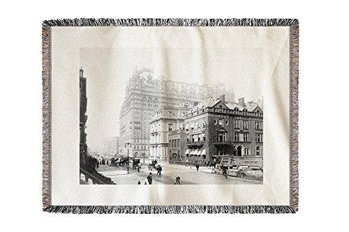 waldorf-astoria-hotel-new-york-ny-photo-60x80-woven-chenille-yarn-blanket