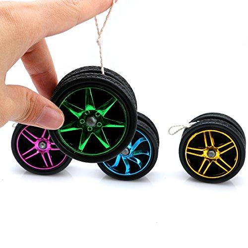 Wheel Shape Yo-Yo, (Color May Vary) by Delight (Cheap Yoyos)