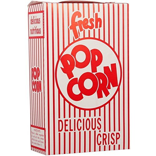3E Close-Top Popcorn Box (500/Case) by Snappy Popcorn