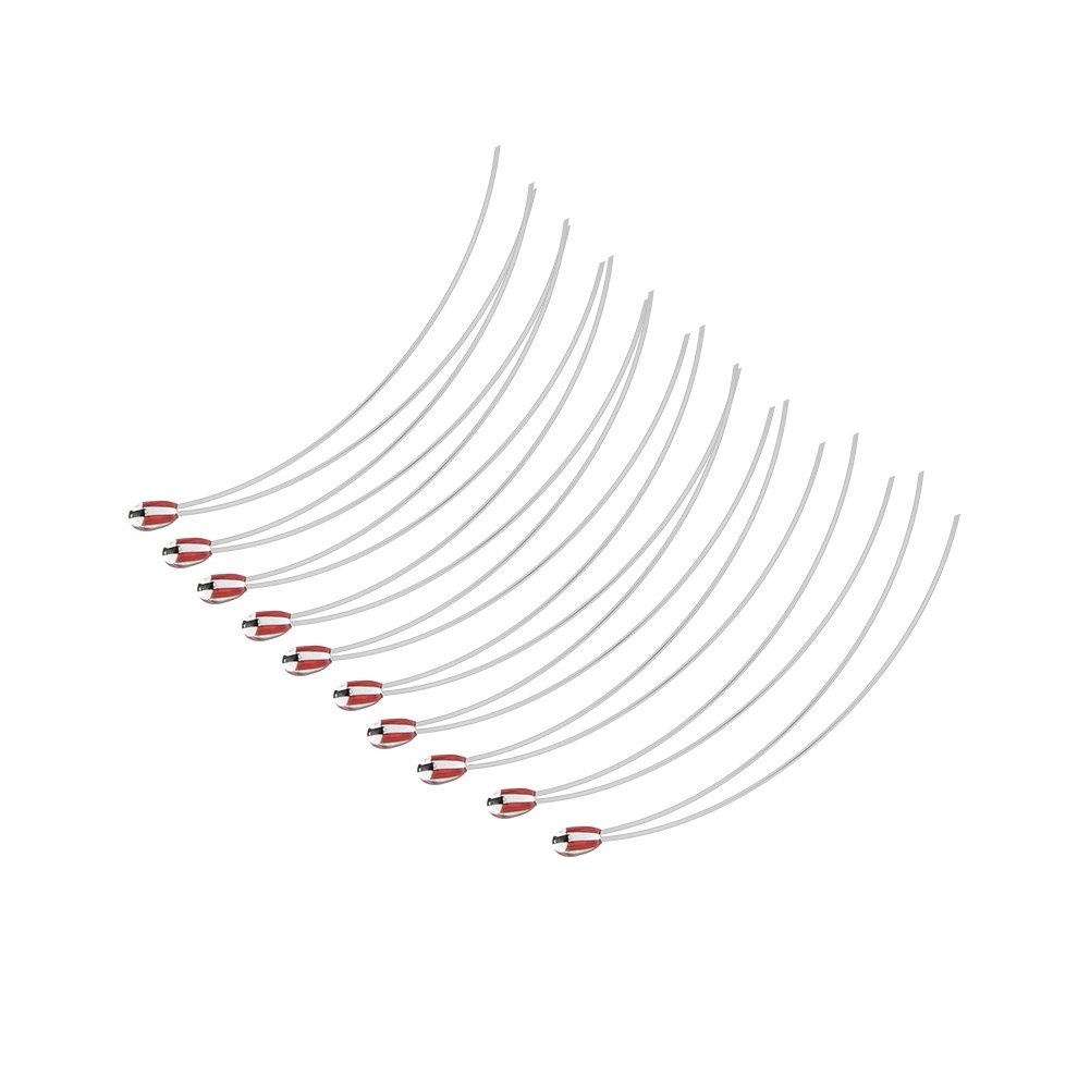Richer-R 3D Printer Thermistor, 10pcs NTC Thermistor Sensor 100k/ 100ohm Thermal Resistor Super Performance, Stable Working, Durable to use 3D Printer Components