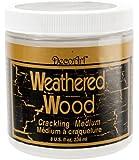DecoArt DAS8-36 Americana Satin Enamels, 8-Ounce, Weathered Wood